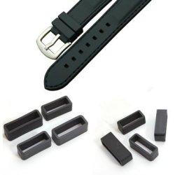 PVC Watch Strap Retaining Hoop Loop Rubber Retainer Buckle Holder
