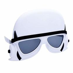 Sun-staches Star Wars Storm Trooper Officially Licensed White Black 8