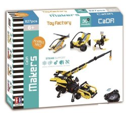 Double Eagle Cada Technic 30 In 1 Toy Factory - 827 Pieces