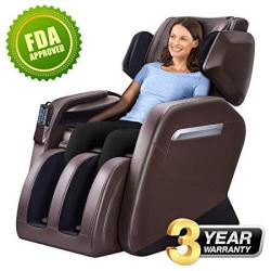 Massage Chair Zero Gravity Full Body Shiatsu Luxurious Electric Massage Chair Recliner With Stretched Mode Heating Back And Foot