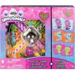 Hatchimals Pop-up And Memo Card Game 72 Cards