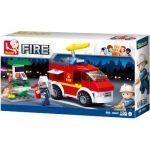 Sluban Fire - Small Fire Truck And Oil