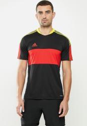 Adidas Performance Tiro Jsy Cu Jersey - Black vivid Red acid Yellow