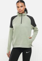 Nike Air Top Midlayer Running Top - Light Army black