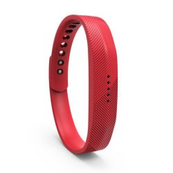 Killerdeals Women's Silicone Strap For Fitbit Flex 2 - Red