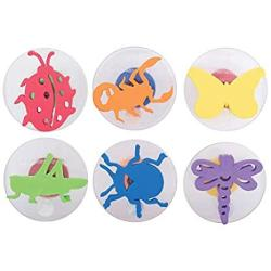 USA Center Enterprises Inc. READY2LEARN Giant Stampers Insects 6 SET