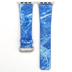 Blue Marble 38MM Band For Apple Watch