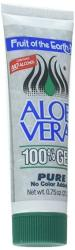 Fruit Of The Earth Aloe Vera Gel - 0.75OZ Tube 1 Case - 36 Units