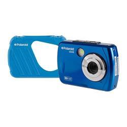 Polaroid IS048 Waterproof Instant Sharing 16 Mp Digital Portable Handheld Action Camera Blue