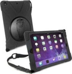 "Tuff-Luv Armour Jack Case Stand and Strap for Apple iPad Pro 10.5"" 2017 in Black"