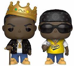 "Funko Pop Rocks: The Notorious B.i.g. Collectible Vinyl Figures 3.75"" Set Of 2"