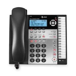 At&t Corp At&t 1080 4-LINE Expandable Corded Small Business Telephone With Digital Answering System - Corded