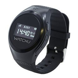 WATCHU Guardian - Gps Tracking Mobile Phone Watch Designed Specifically For The Elderly Senior Dem