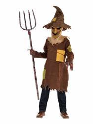 Boys Scary Scarecrow Costume - XL 14-16