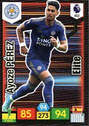 Premier League 2019 Panini Adrenalyn XL 452 Ayoze P Rez Elite Card