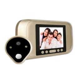A32D 3.2 Inch LED Display 720P HD Smart Peephole Viewer Visual Doorbell Support Tf Card 32GB Max