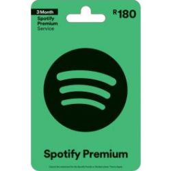 Digital Code Spotify Voucher R180