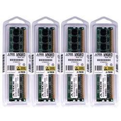 16GB Kit 4 X 4GB For Dell Optiplex 990 MINI Tower 990 Small Form Factor. Dimm DDR3 Non-ecc PC3-10600 1333MHZ RAM Memory. Genuine A-tech Brand.
