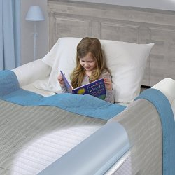 One Piece Design Magic Bumpers Child Bed Safety Guard Rail 42 Inch 2 Pack