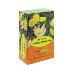 Eve Instant Honeyed Ginger Tea With Lemon 10 Sachets