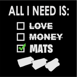 All I Need Is Mats Sweater Black