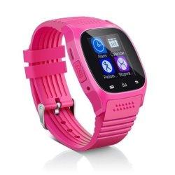 Aosmart Bluetooth Touch Screen Smart Wrist Watch - Pink