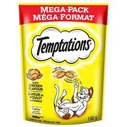 Whiskas Temptations Classic Treats For Cats Tasty Chicken Flavor 6.3 Ounces With Our Mouthwatering Menu We Have A Flavor For Eve