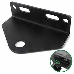 """Mission Automotive Heavy Duty Universal Zero Turn Mower Trailer Hitch - 3 16"""" Thick And Rugged Steel - 3 4"""" Trailer Hitch Moun"""