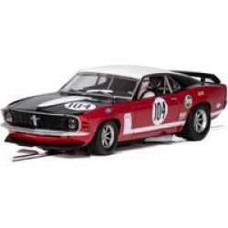 Scalextric - Ford Mustang Boss 302 - British Saloon Car Championship 1970 Slot Car