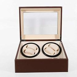 Lyniceshop Fashion 4+6 Automatic Leather Watch Winder Storage Display Case Box Holder Usa