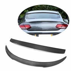 MCARCAR KIT Rear Spoiler fits Mercedes Benz GLE Class C292 GLE300 GLE350 GLE400 GLE450 GLE550 GLE43 GLE63 AMG Coupe 2015-2019 Carbon Fiber CF Wing Lip Roof Window Spoiler