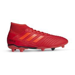 Adidas Men's Predator 19.3 Fg Red black Boots