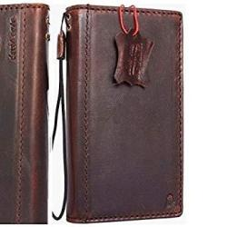 Genuine Real Leather Case For Samsung Galaxy S8 Plus Book Cards Wallet Luxury Cover Slim Handmade Retro Id S 8 Davis Holder Classic