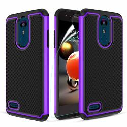 LG Aristo 3 Case LG Aristo 2 ARISTO 2 Plus rebel 4 Lte aristo 3 Plus + tribute Empire&dynasty lg K8S ZONE 4 FORTUNE 2 K8+ RISIO 3 PHOENIX 4 Case Hybrid Dual Layer