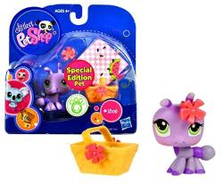 USAB Hasbro Littlest Pet Shop 2010 Assortment 'a' Series 1 Collectible Figure Ant Special Edition Pet