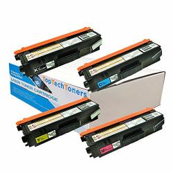 Toptech Toners Compatible Toner Cartridges Replacement For Brother TN315 - 4 Pack
