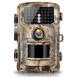 Campark Trail Camera 14MP 1080P 2.4 Lcd Game & Hunting Camera With 42PCS Ir Leds Infrared Night Vision Up To 75FT 23M IP56 Water