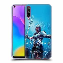 Official Aquaman Movie King Orm Posters Soft Gel Case Compatible For Huawei Honor Play 3