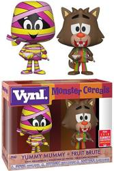 Vynl. Yummy Mummy + Fruit Brute Monster Cereals Vinyl Collectible 2018 Summer Convention Limited Edition