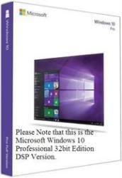 Microsoft Windows 10 Professional 32Bit DSP Edition