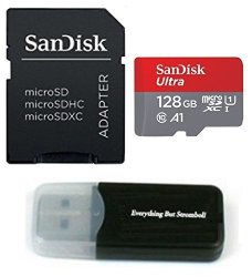 Sandisk & Everything But Stromboli Samsung Galaxy S9 Memory Card Sandisk 128GB Ultra Micro Sd Sdxc Uhs-i Class 10 For S9+ S9 Plus SDSQUAR-128G-GN6MA With Everything But Stromboli Tm