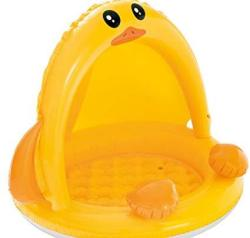 "Intex Pool Duck Baby Pool- Inflatable- 40"" X 32.5"