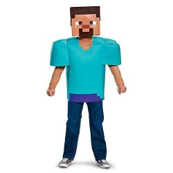 Disguise Costumes - Toys Division Steve Classic Minecraft Costume Multicolor Small 4-6