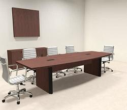 Modern Boat Shaped 10' Feet Conference Table OF-CON-CP2