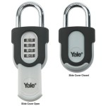 Yale 50mm Outdoor Combination Padlock With Slide Cover