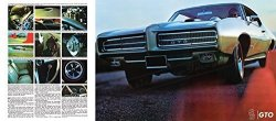 Pontiac Classic And Muscle Car Ads And Car Art 1969 Gto Ad Digitized & Re-mastered Car Poster Print - Breathe Better Than Tarzan