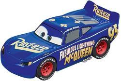 Carrera USA 20030859 Fabulous Lightning Mcqueen Digital 1:32 Scale 132 Slot Car Racing Vehicle Blue