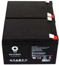 12V 12Ah F2 Replacement Battery Set for Fenton Technologies PowerPal B3611 UPS by UPSBatteryCenter 3