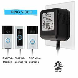 Well-run Information And Technology Power Adapter Video Doorbell Power Supply 18 Vac Power Transformer For Ring Doorbell With Etl Certificate - Compatible With Ring Doorbell Ring Pro Nest Hello Doorbell