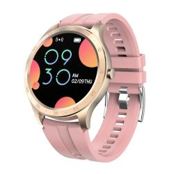 S20 1.28INCH Tft Color Screen Smart Watch IP67 Waterproof Support Call Reminder heart Rate Monitoring blood Pressure Monitoring blood Oxygen Monitoring sleep Monitoring Pink